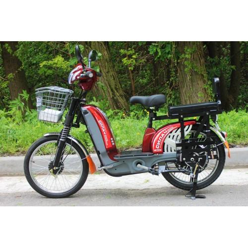 Электровелосипед грузовой Силач 450w/60v