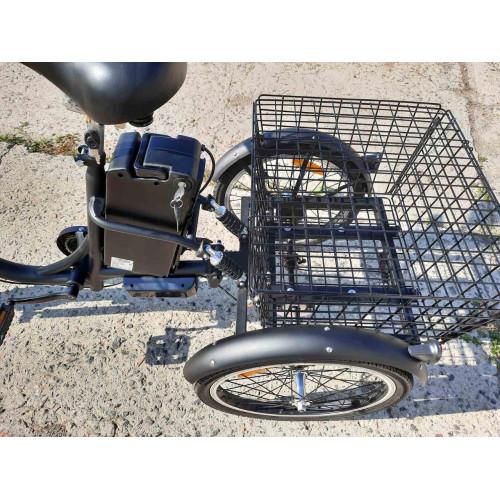 Электровелосипед трехколесный грузовой Vega HAPPY 2021 (трицикл) + реверс + Lithium 12Ahh