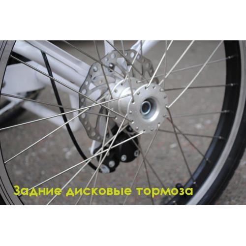 Электровелосипед трехколесный грузовой Vega HAPPY VIP 20,8Ач!!!