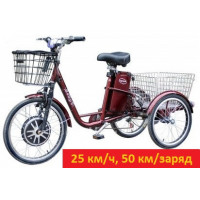Электровелосипед трехколесный грузовой VEGA HAPPY  реверс