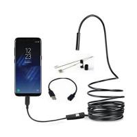Эндоскоп JYC 8led USB-microUSB HD 1280 * 960 5м жесткий кабель водонепроницаемый