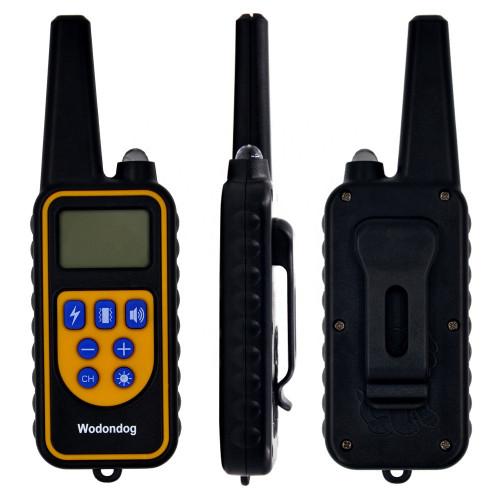Ошейник электронный 800м. WODONDOG водонепроницаемый для дрессировки собак аккумулятор от USB Р-880
