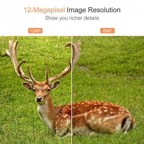 Фотоловушка Victure ночное видение 20м. 12MP IP66 2.4