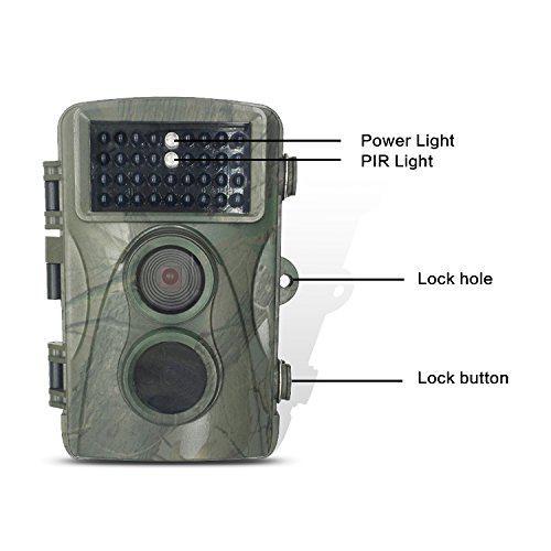 Фотоловушка FOX ночное видение 20м. 12MP IP56 0,6с.