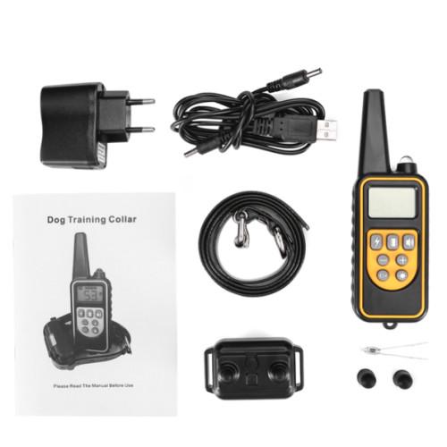Ошейник электронный P-880 WODONDOG 800м. водонепроницаемый для дрессировки собак аккумулятор от USB