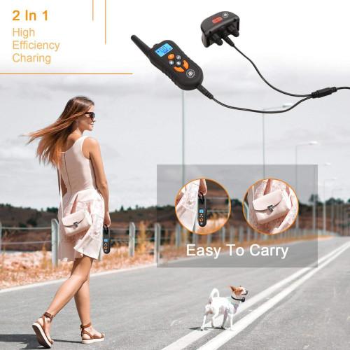 Ошейник аккумуляторный JIA 550м. водонепроницаемый IP67 для дрессировки собак