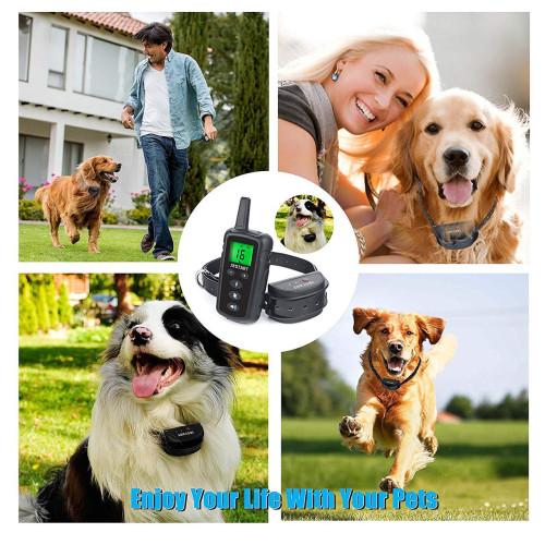 Ошейник аккумуляторный JOSTART-2 500м. водонепроницаемый IP67 для дрессировки собак
