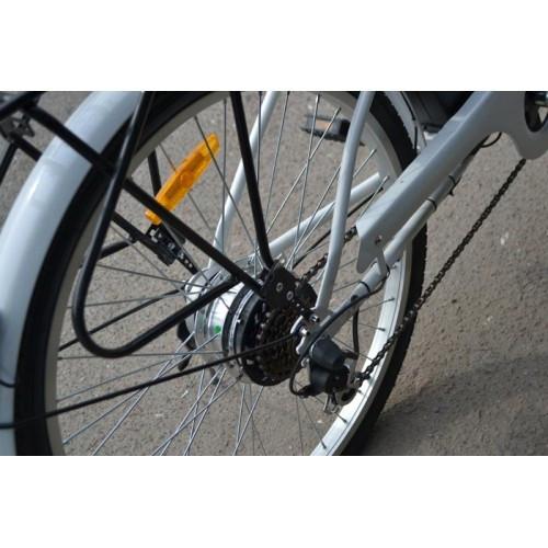 Электровелосипед FAMILY 2 Shimano Li-ion белый, Электровелосипед