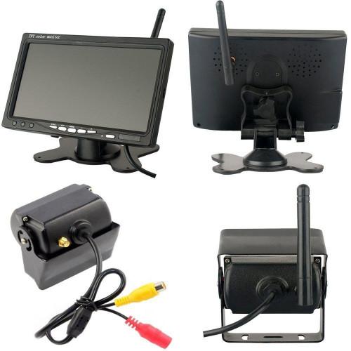 Камера комплект беспроводная с монитором 9