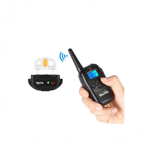 Ошейник IPetDog электронный водонепроницаемый для дрессировки собак аккумулятор от USB  iT798 ресивер 500 мАч