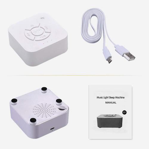 Портативная колонка генератор белого шума 36 часов автономной работы Relax Sleep NEW