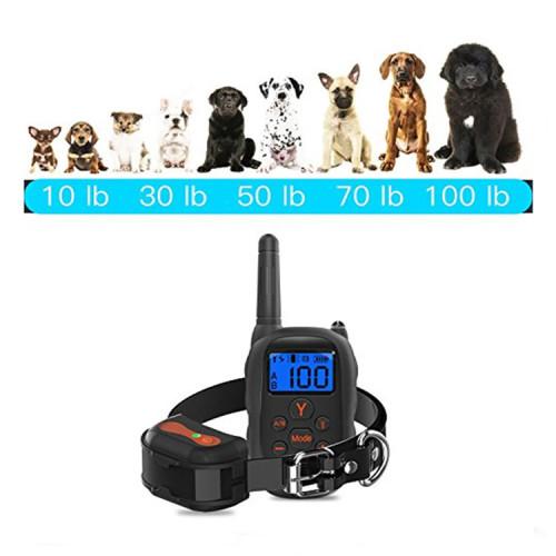 Ошейник для тренировки собаки Vinsic PK9 NEW Водонепроницаемый IP67 Перезаряжаемый