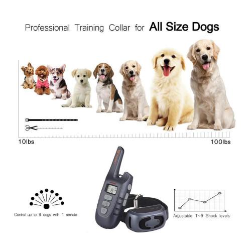 Ошейник для тренировки собаки Vinsic PS2 NEW Водонепроницаемый 450м. IP67 Перезаряжаемый лазерная указка