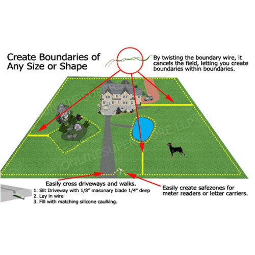 Электронный забор для собак JIA рет-023