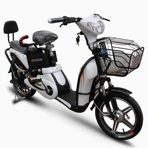 Электроскутер Skybike Sport (350W-48/12 V/Ah) Белый