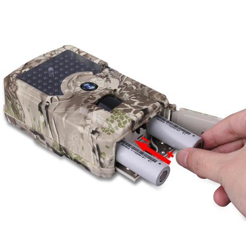Фотоловушка Hunting PR-200+ IR 25м. 49pcs IR 20м. датчик движения 15м. 12MP IP56 1с. 120гр.