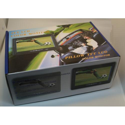 Камера 170гр. IR15m. шорокоугольная IP68 с монитором 7