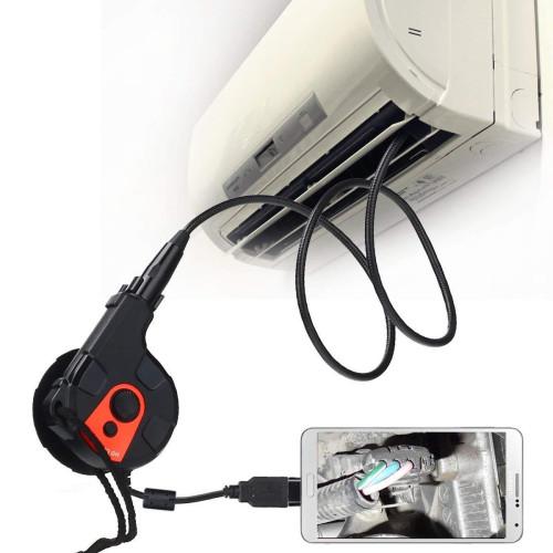 Эндоскоп для СТО 5мм. USB, microUSB HD  зонд 0.8м. кабель 2м.