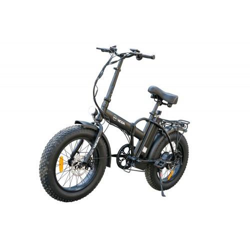 Электровелосипед 500/48 складной Vega Фет байк (Fatbike) Al 48V/10Ah Li-io SHIMANO багажник,  +Замок