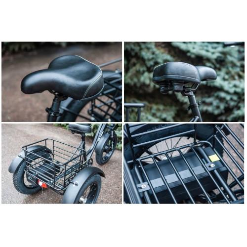 Электровелосипед трехколесный 500/48 грузовой VEGA BIG HAPPY FAT