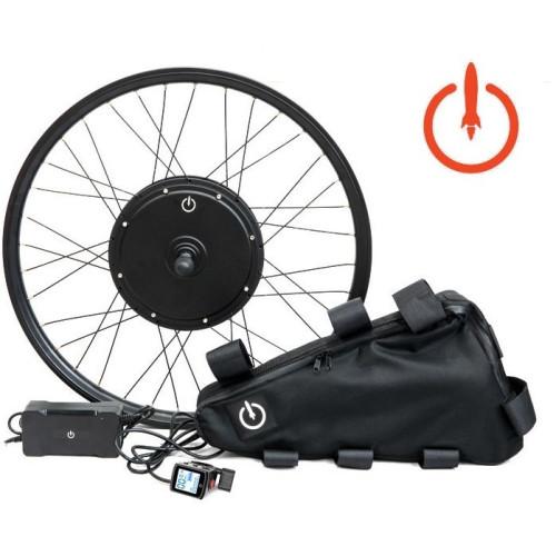 Электронабор для велосипеда полный Veloraketa 500w 48v Li-io в ободе 20