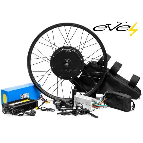 Электронабор Evel для велосипеда 1200w 60v Li-io заднее с рекуперацией