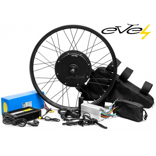Электронабор Evel для велосипеда 1200w 60v Li-io заднее с рекуперацией Boston Swing 16S 60v 21.2Ач