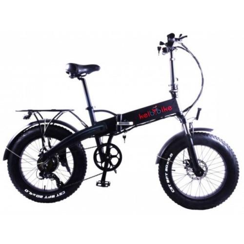 Электровелосипед складной фетбайк Kelb E-1913WS 20