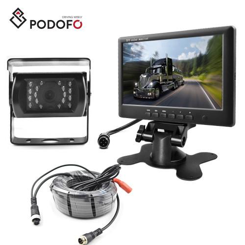 Камера  IR15m. 12-32v IP67 с монитором 7