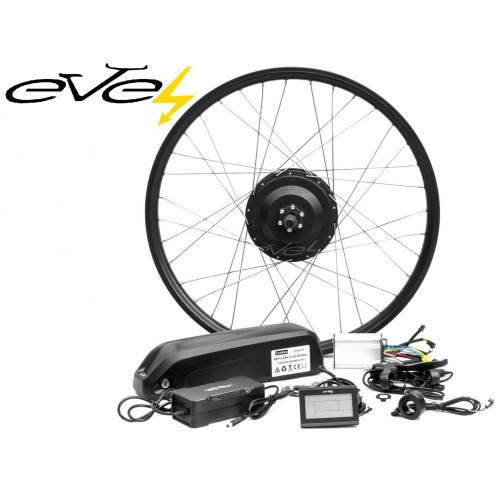 Электронабор Evel для велосипеда 600w 48v Li-io заднее редукторное Panasonic 48v 11,6Ач