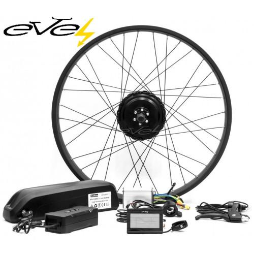 Электронабор Evel для велосипеда Фэтбайк 750Вт 48v Li-io заднее редукторное Panasonic 48v 16Ач
