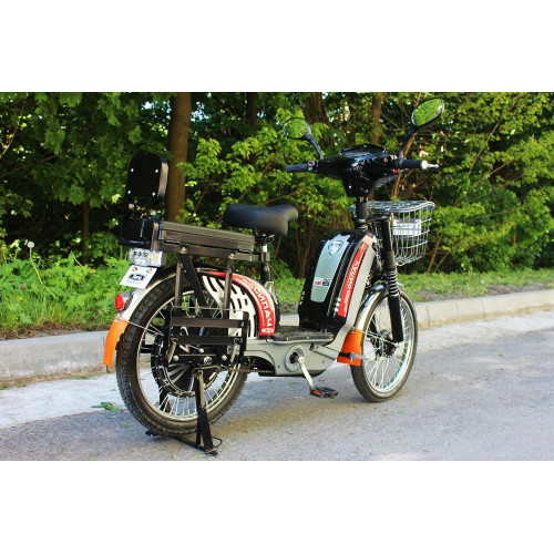 Электровелосипед грузовой Силач 450w/60v Черный