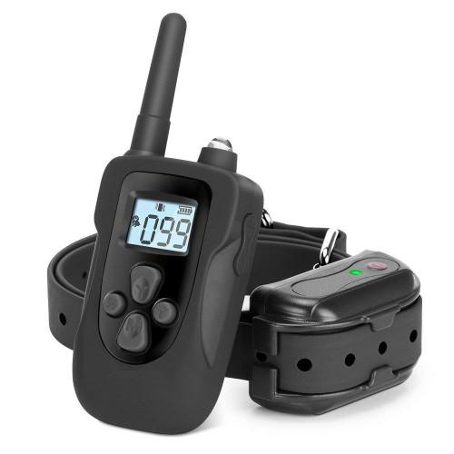 Ошейник IPetDog электронный водонепроницаемый для дрессировки собак аккумулятор от USB  iT798 ресивер 500 мАч Прорезиненный ударопрочный пластик