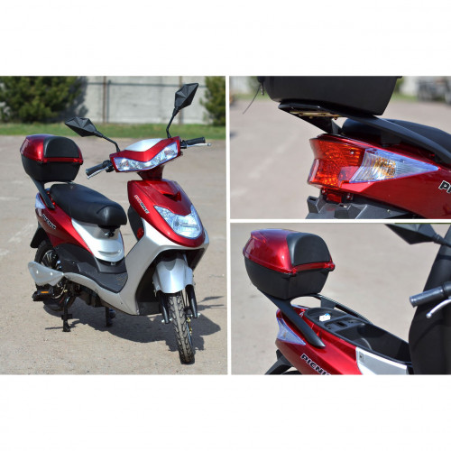 Электроскутер SkyBike Picnic-2021 500w DW402 бордовый