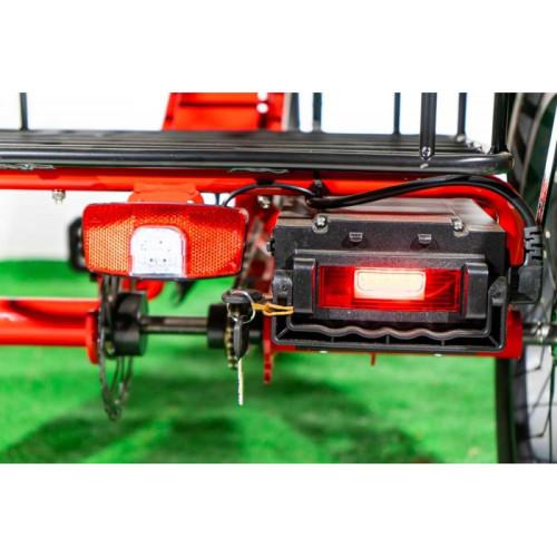 Электровелосипед трехколесный 500/48 грузовой VEGA BIG HAPPY FAT Красный