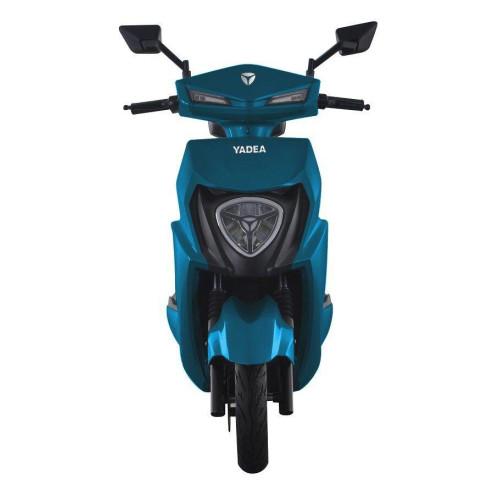 Електроскутер Yadea T6 1500W 60v 20Ah Синий