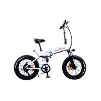 Электровелосипед складной фетбайк Kelb E-1911 WS-20 500W, 48V,10Ah Li Shimano  PAS