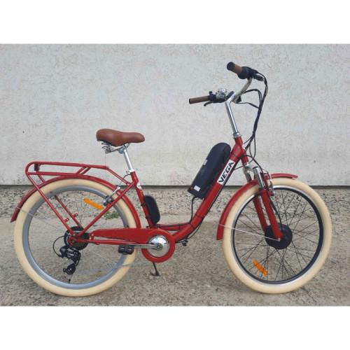Электровелосипед Vega Family S 350/10,4 Li-ion 2021 Рубиновый