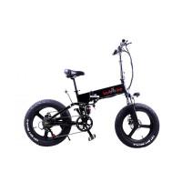 Электровелосипед складной фетбайк Kelb E-1911WT-20 500W, 48V,10Ah Li Shimano  PAS
