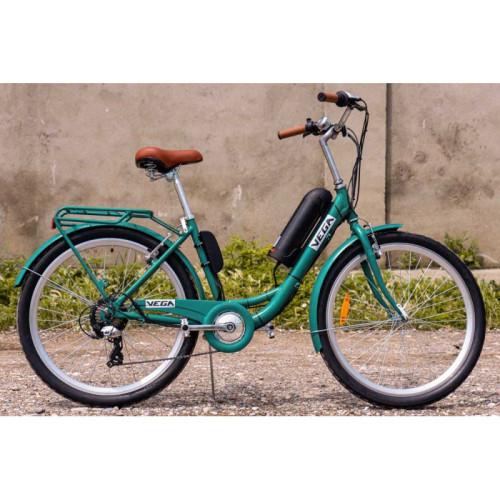 Электровелосипед Vega Family S 350/10,4 Li-ion 2021 Emerald