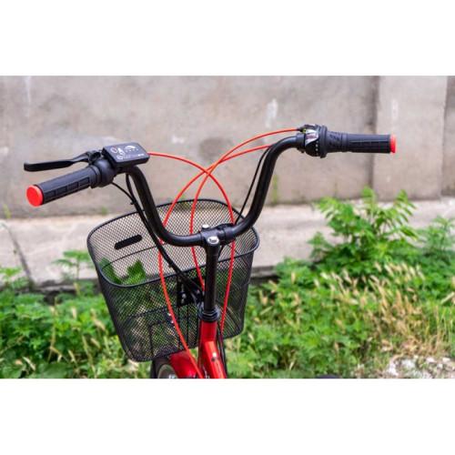 Электровелосипед Vega Joy S (Black) 350/10,4 Li-ion складной Red